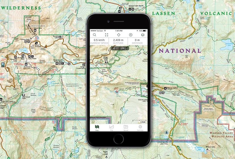 Digital Maps Apps - Trail map apps