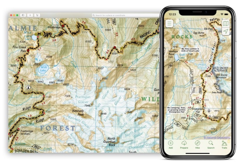Digital Maps & Apps